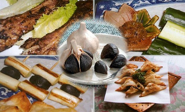 黒にんにくを使ったお料理レシピ
